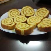 菠萝蛋糕卷