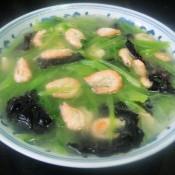河虾木耳窝笋汤