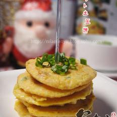 胡萝卜土豆饼
