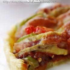番薯腊肠披萨