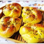 南瓜葡萄干花朵面包