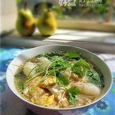 魔芋丝香菜汤