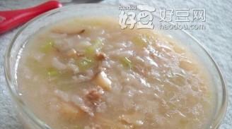 芹菜香菇粥的做法