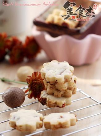蔓越莓酥饼的做法