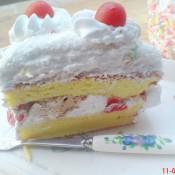 椰蓉奶油蛋糕