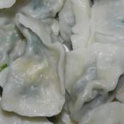 菠菜素水饺