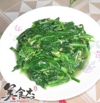 虾皮炒菠菜