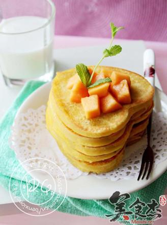 玉米面雞蛋餅