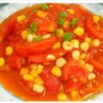 番茄烧玉米