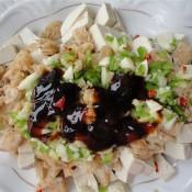 蚝油海米拌豆腐