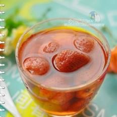 冰糖草莓罐头