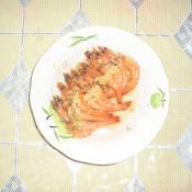 蒜蓉蒸基围虾