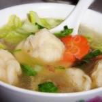鱼丸粉丝白菜汤