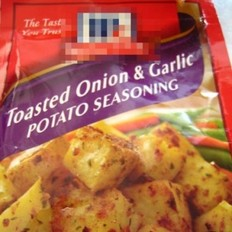 洋葱蒜香烤土豆