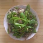 青椒炒猪肉