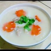 淮山胡萝卜排骨粥
