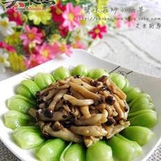 蟹味菇炒小油菜