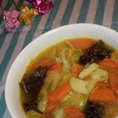 咖喱包菜土豆汤