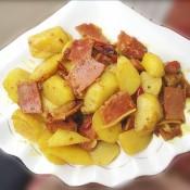 咖哩烧土豆牛肉