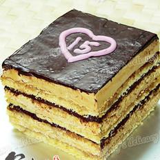 歌剧院蛋糕的做法