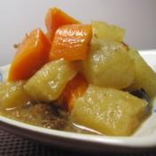 蒜香双瓜炖牛肉