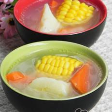 玉米胡萝卜淮山骨头汤