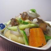 杏鲍菇洋葱炒牛肉