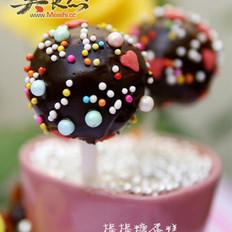 巧克力棒棒糖蛋糕