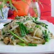 海红蔬菜炒粉丝