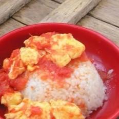 番茄鸡蛋盖饭