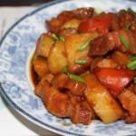 五花肉烧土豆