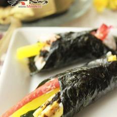 海苔醬油煮手卷壽司