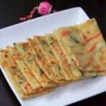 黄瓜胡萝卜饼