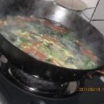 西红柿黄瓜鸡蛋汤