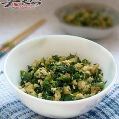 芹菜叶炒三鲜