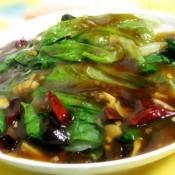 炝蚝油生菜