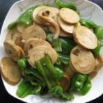 辣椒炒豆腐卷