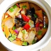 腊肉砂锅豆腐