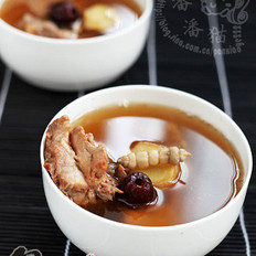 灵芝养生排骨汤
