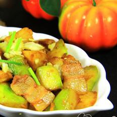 土豆炖窝瓜