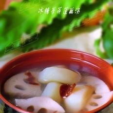 冰糖荸荠莲藕汤