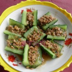 脆炝黄瓜卷