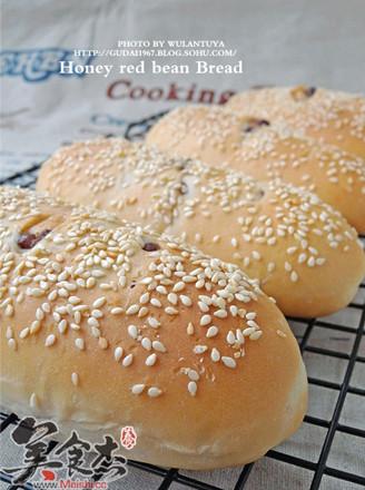蜜红豆小面包