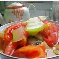 番茄葫芦汤