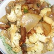 土豆片炒花菜的做法大全