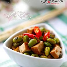 雪菜肉末毛豆米