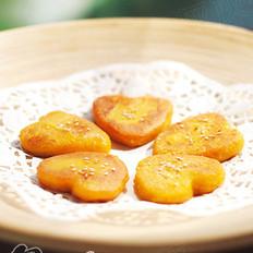 爱心南瓜饼