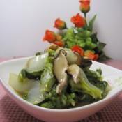香菇奶白菜