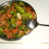 午餐肉炒青瓜
