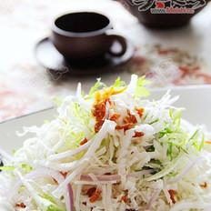 虾干白菜丝